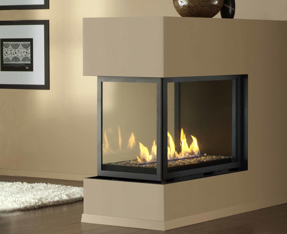 Contemporary Gas montigo Fireplaces with white carpen on wooden floor ideas