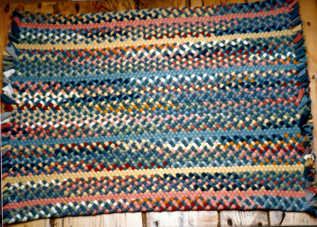 Custom multicolor Braided Rugs Country Braid House