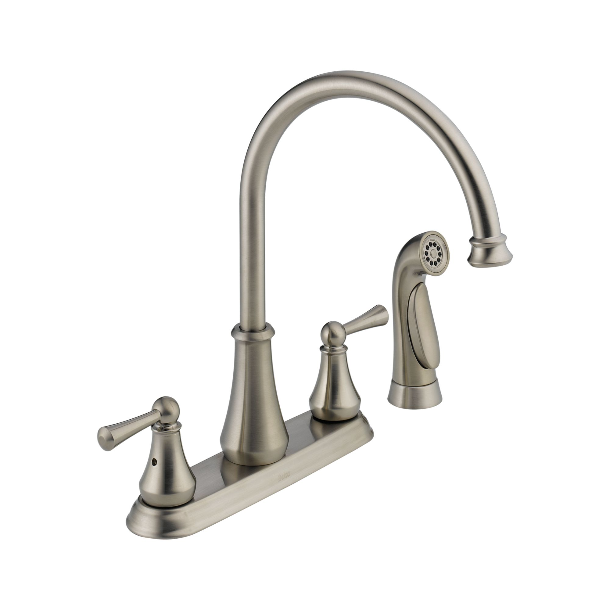 Delta 21902LF faucet direct with Double Handle for kitchen furniture inspiration
