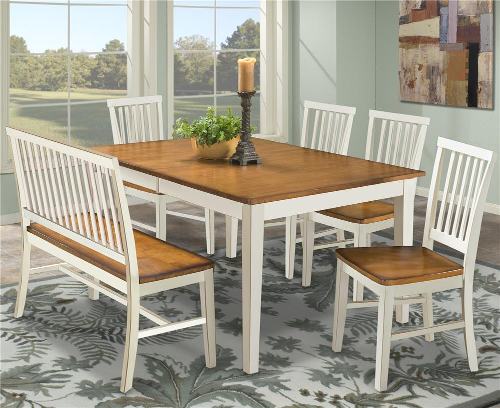 dining room design with sprintz furniture with wooden dining table on floral carpet ideas