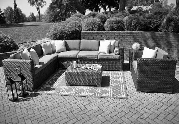Divine Frontgate Outdoor Furniture With Sofa Sets And Cushions Plus Wonderful Carpet