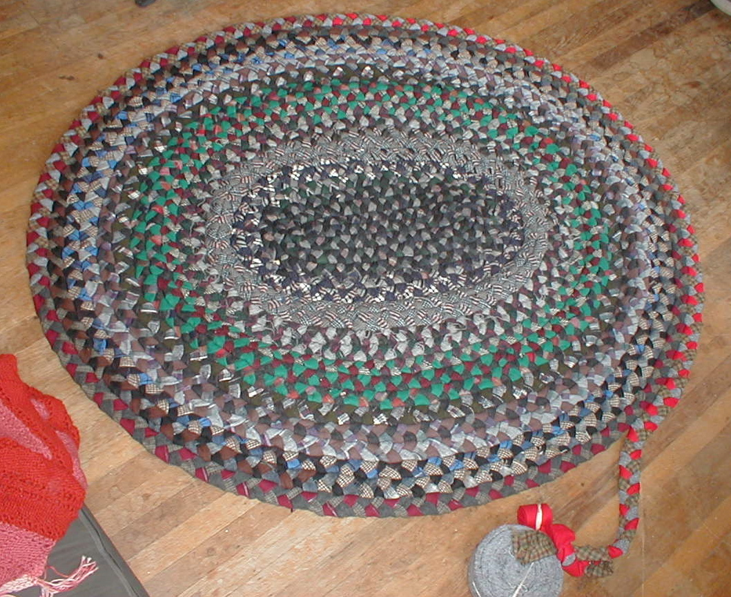 diy round braided rugs for floor decor ideas