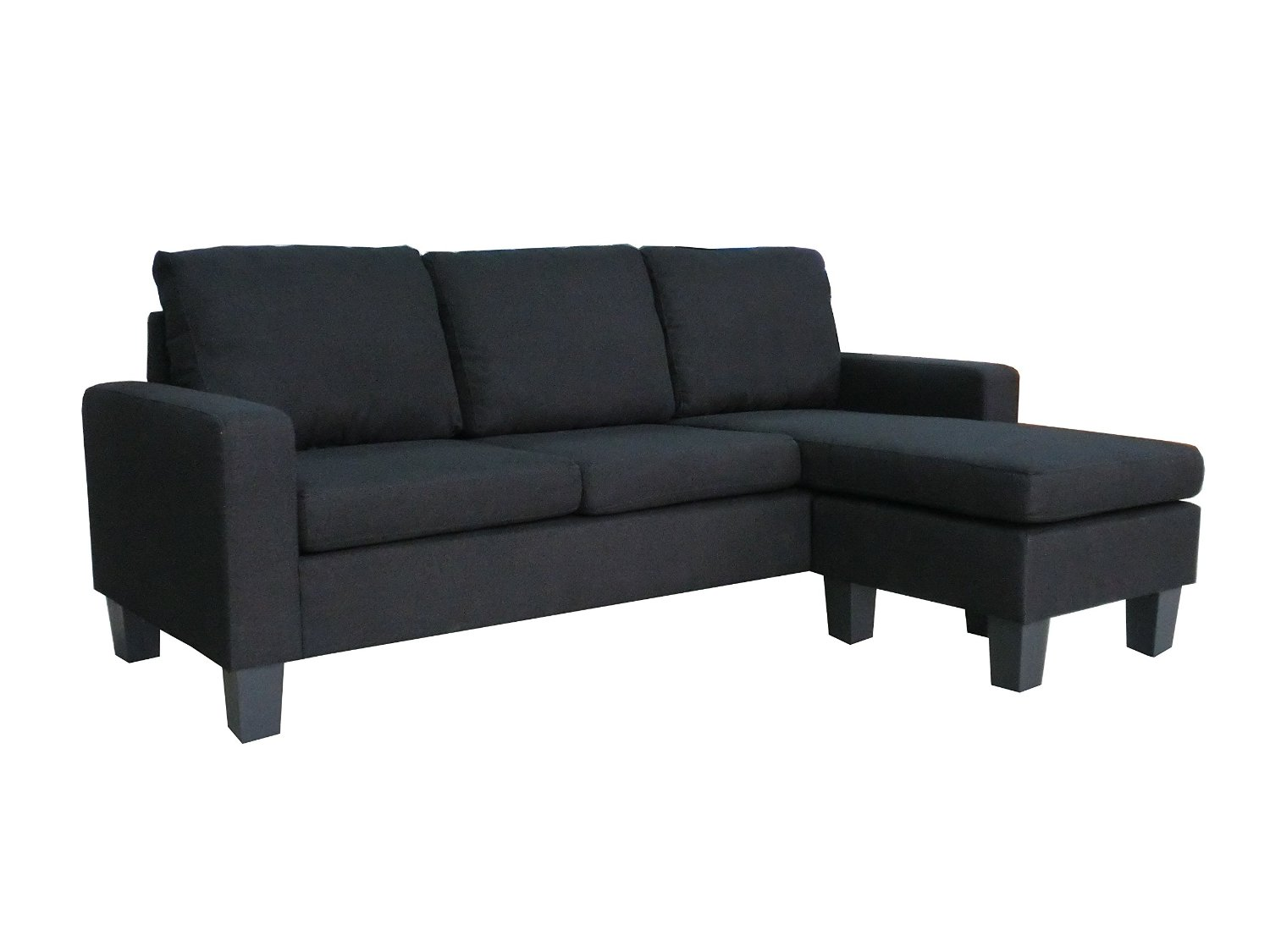 elegant black Sectional Couches to make your living room more beautiful