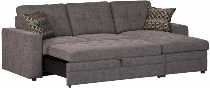 Elegant Small Grey Sectional Couches With Cushions For Inspiring Furniture Ideas