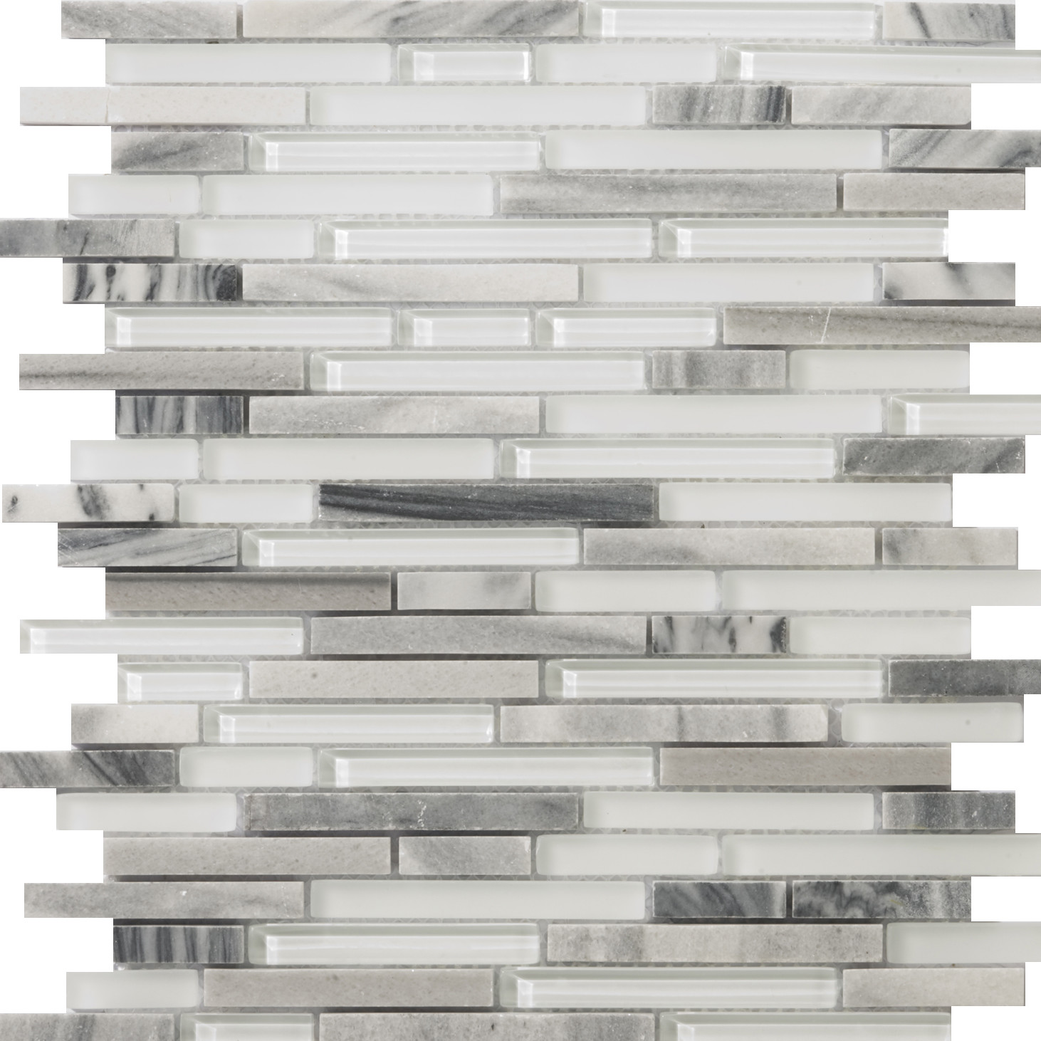 emser tile lucente random sized glossy glass mosaic in grazia linear 72