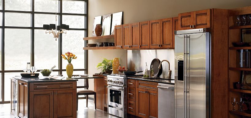 Exciting peru Thomasville Cabinets with sink and fridge plus stove for kitchen furniture ideas