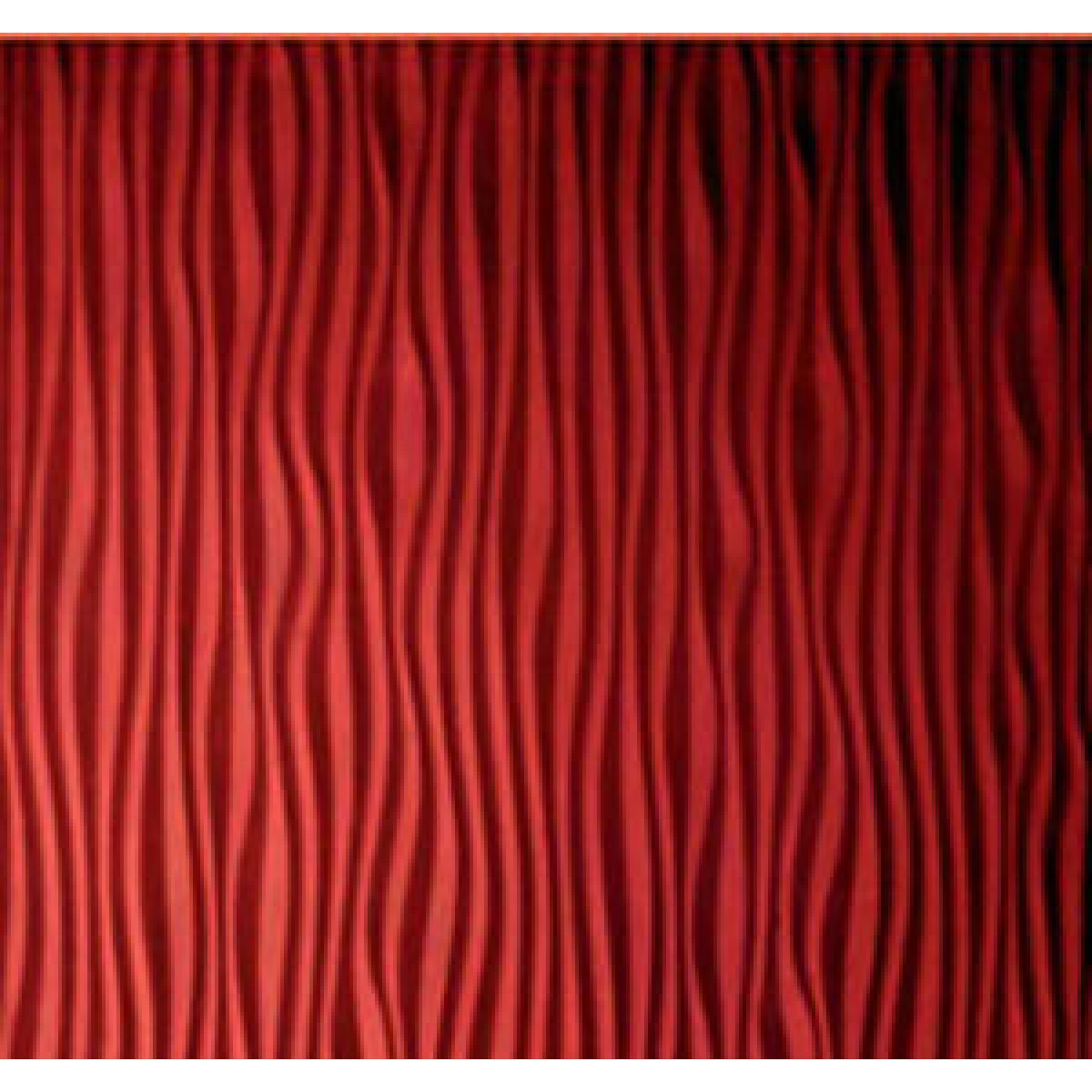 fancy textured wall panels in red with beautiful design