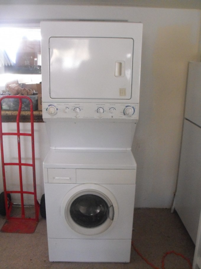 Frigidaire Natural Gas Front Load Style Stackable Washer And Dryer Ideas