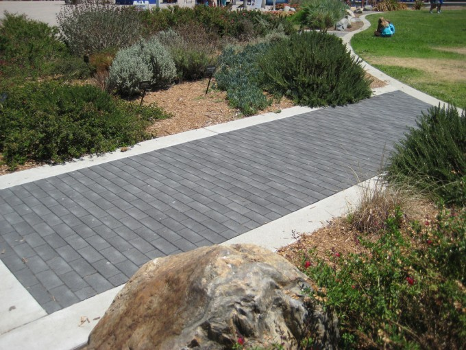Gray Azek Pavers For Track Ideas