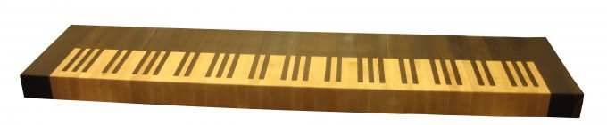Grothouse Butcher Block Countertops Piano Keyboard Design By Grothouse