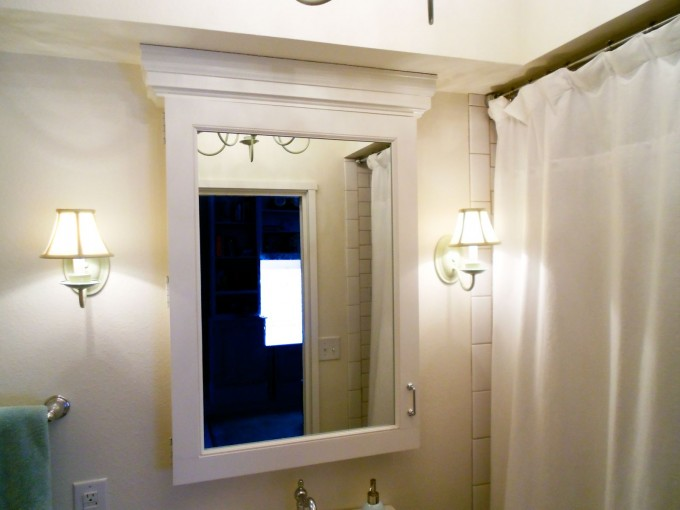 Inspiring Bathroom With Lowes Bathroom Lighting Plus Sink And Mirror Ideas