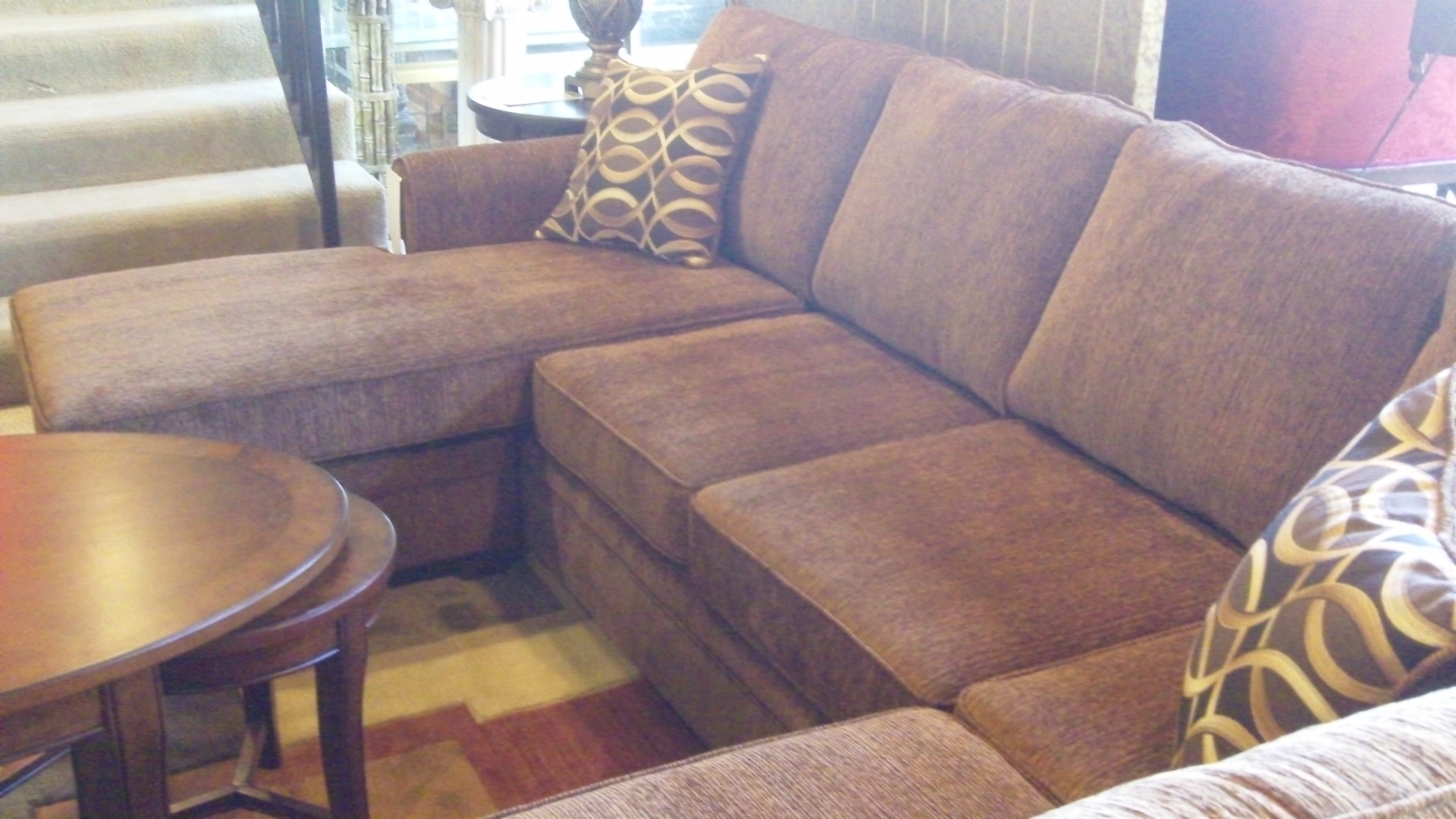 inspiring brown Sectional Couches plus cushions for Goods home ideas