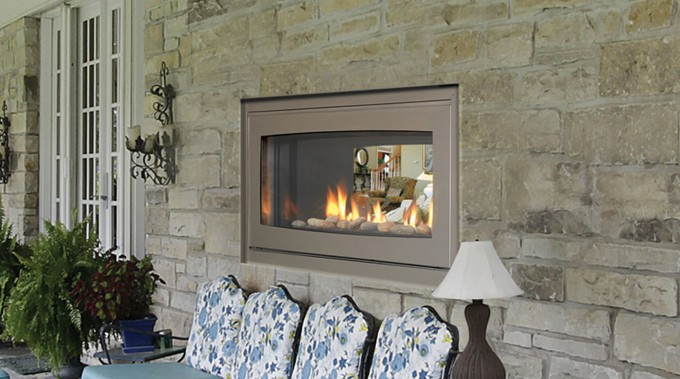 Inspiring Family Room With Modern Electric Isokern Fireplace Plus Sofa And Table Standing Lamp