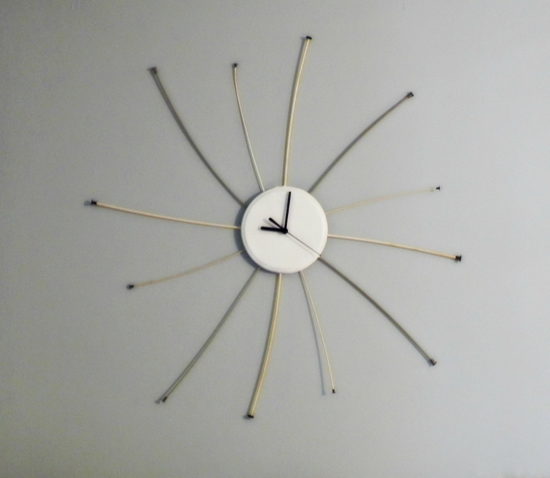 Inspiring Starburst Wall Decor With Clock For Wall Accessories Ideas