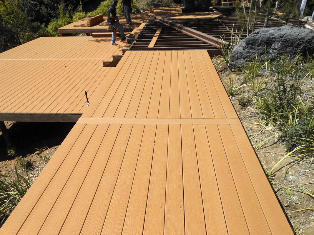 installation mocca evergrain decking