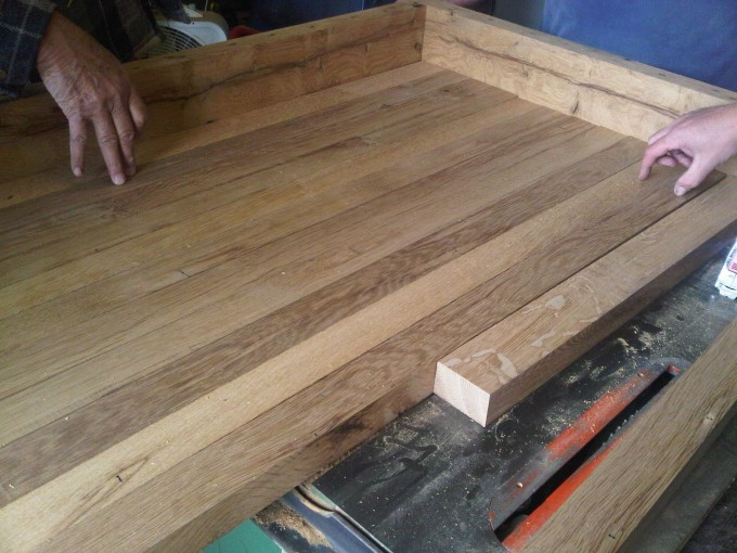 Keeping It Cozy Butcher Block Countertops Made Out Of Reclaimed Wood