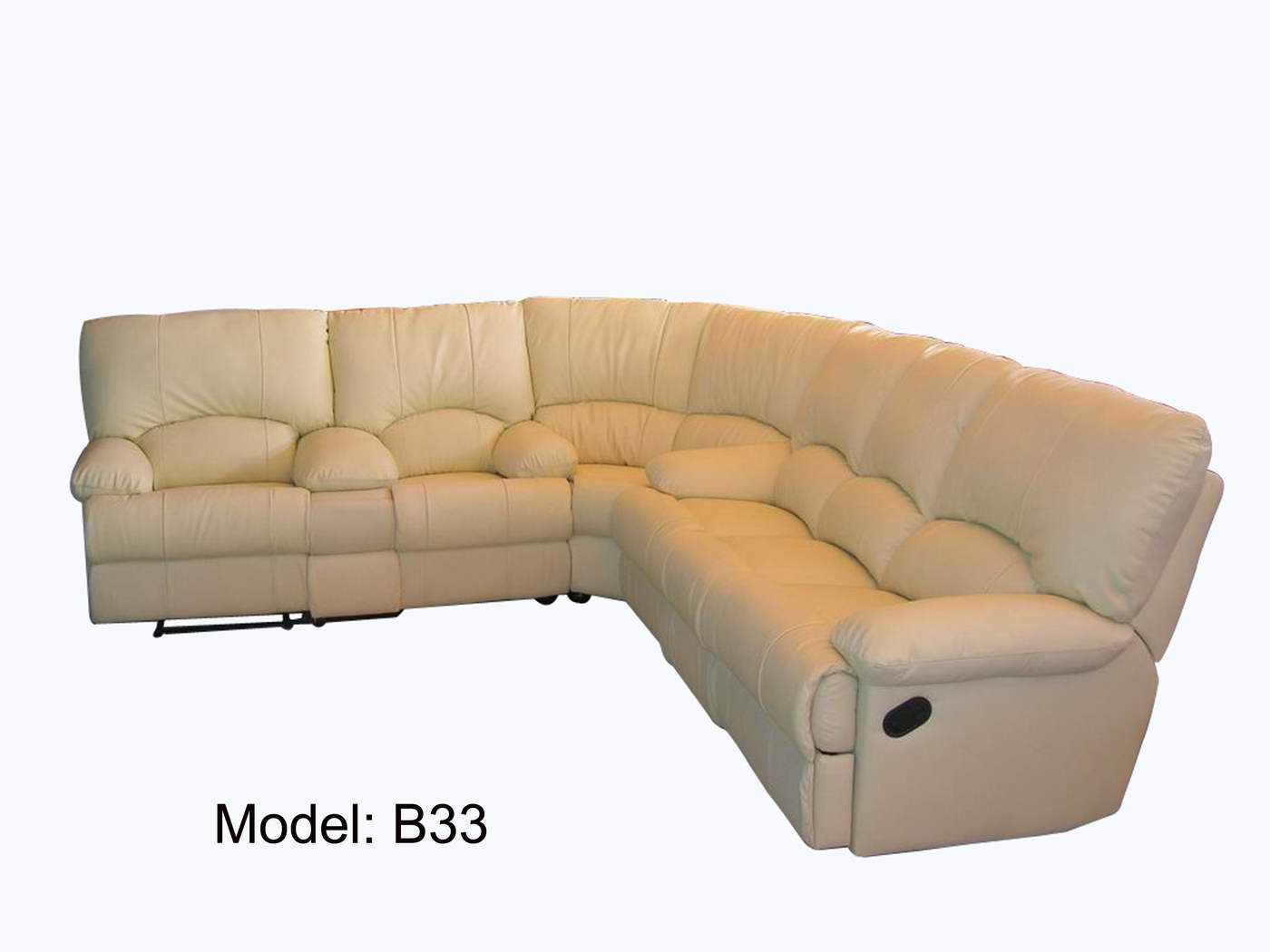 Leather Sectional Couches in cream theme for inspiring furniture ideas