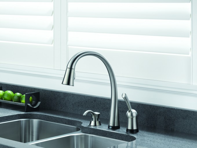 Lowes Kitchen Faucets With Single Handle And Sink For Wonderful Kitchen