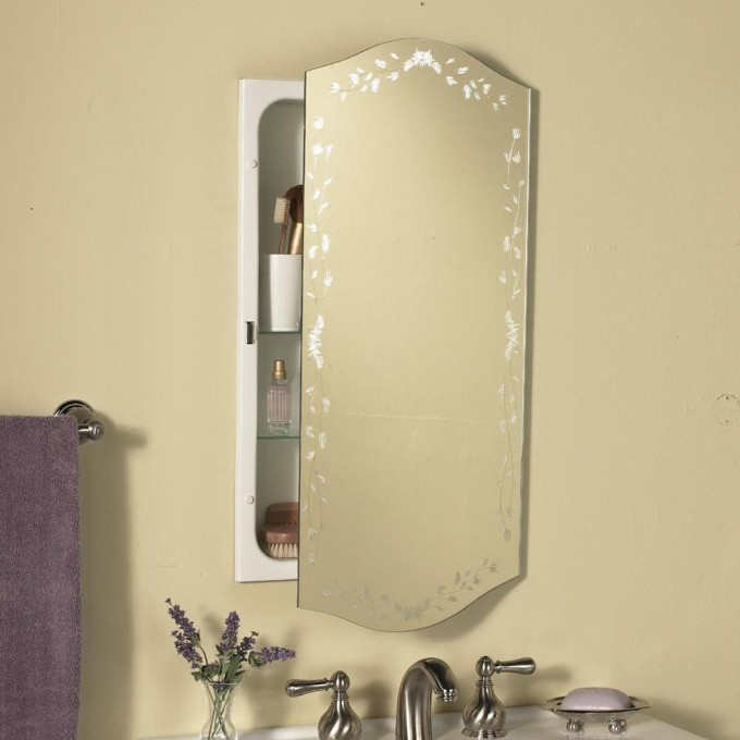 Lowes Medicine Cabinets With Mirror In Modern Design With Sink Under It
