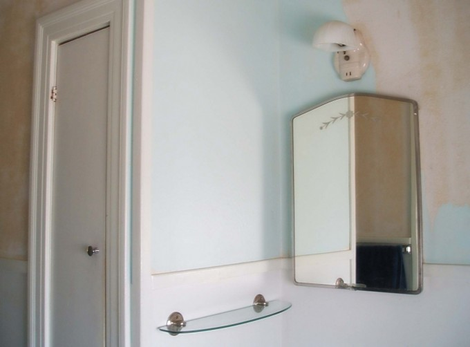 Lowes Medicine Cabinets With Mirror On White Wall With Lamp
