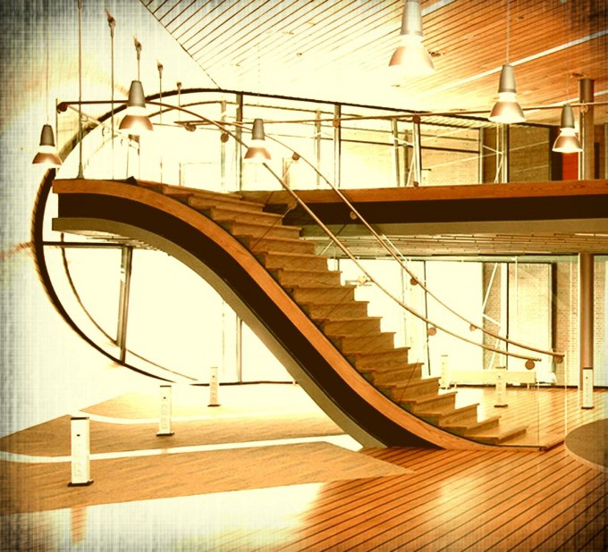 Luxury Handrails For Stairs In Gold Ideas With Many Chandelier