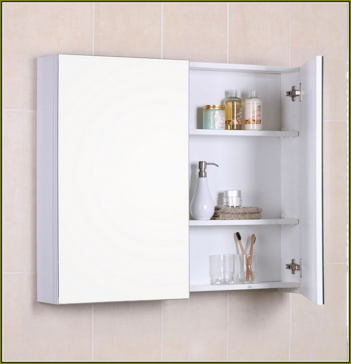 luxury Wooden White Rectangle lowes medicine cabinets with mirror