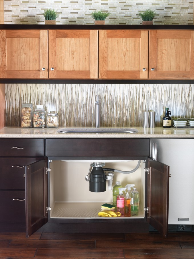 Merillat Cabinets Plus Sink And Kitchen Faucet For Kitchen Ideas
