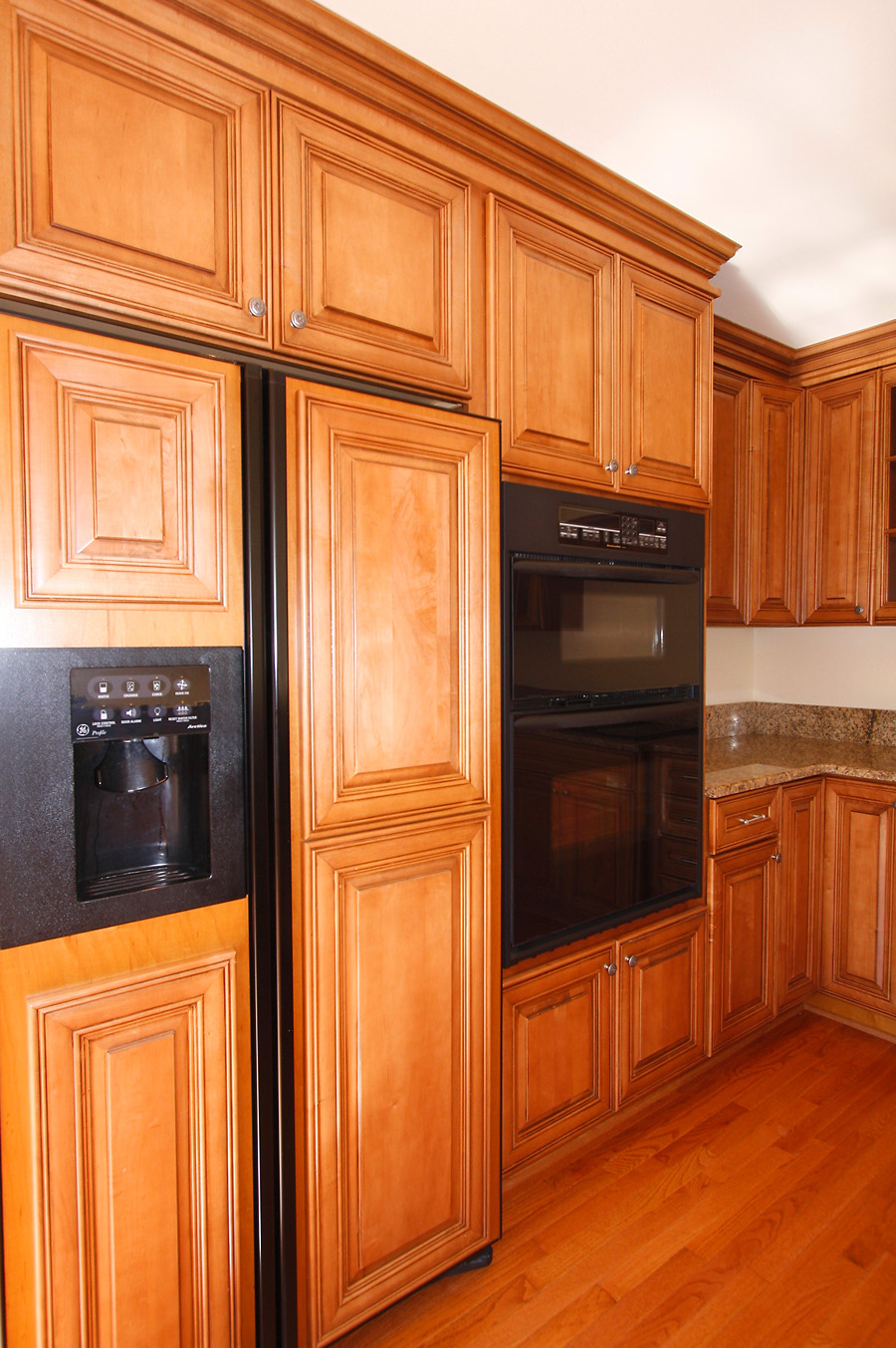 Modern Classic Kitchen with Thomasville Cabinets with Coffee Machine and oven for smart kitchen furniture ideas