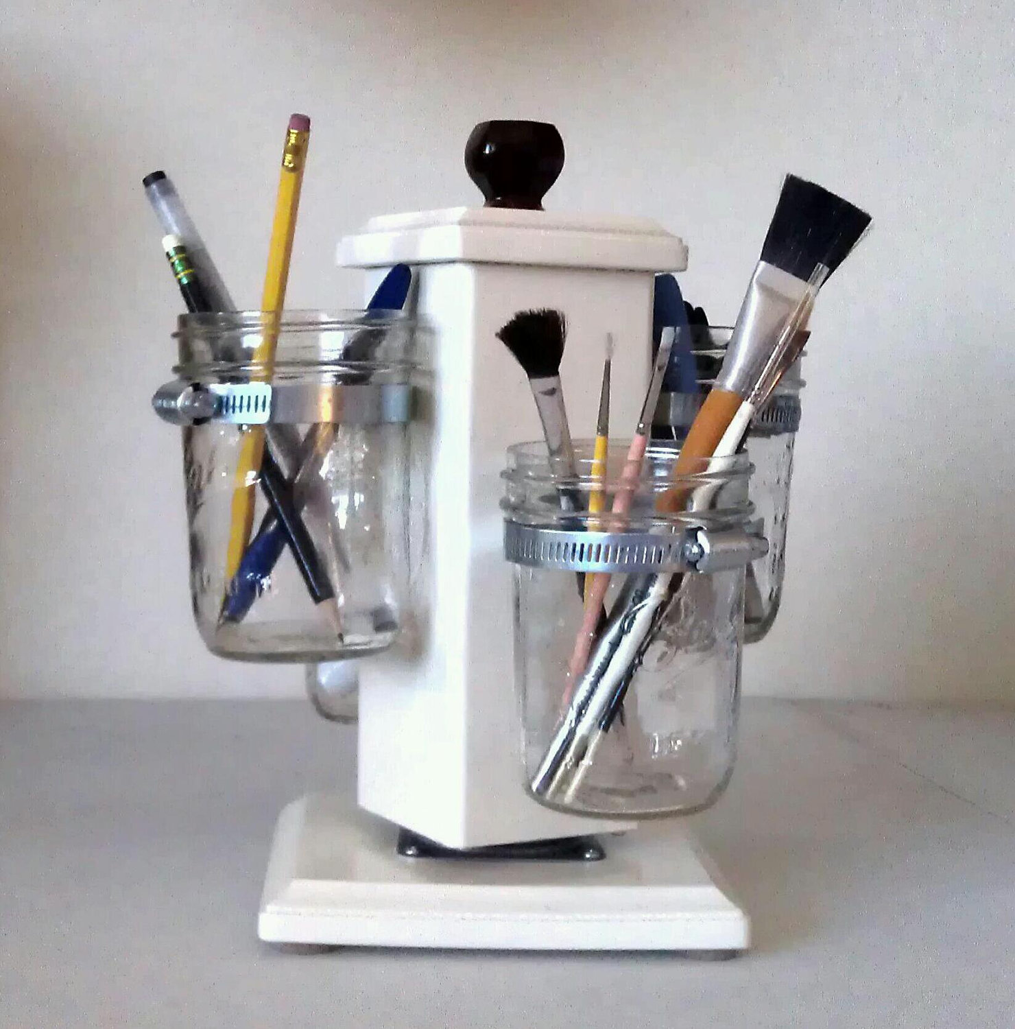 modern design utensil caddy for Paint Brush case ideas