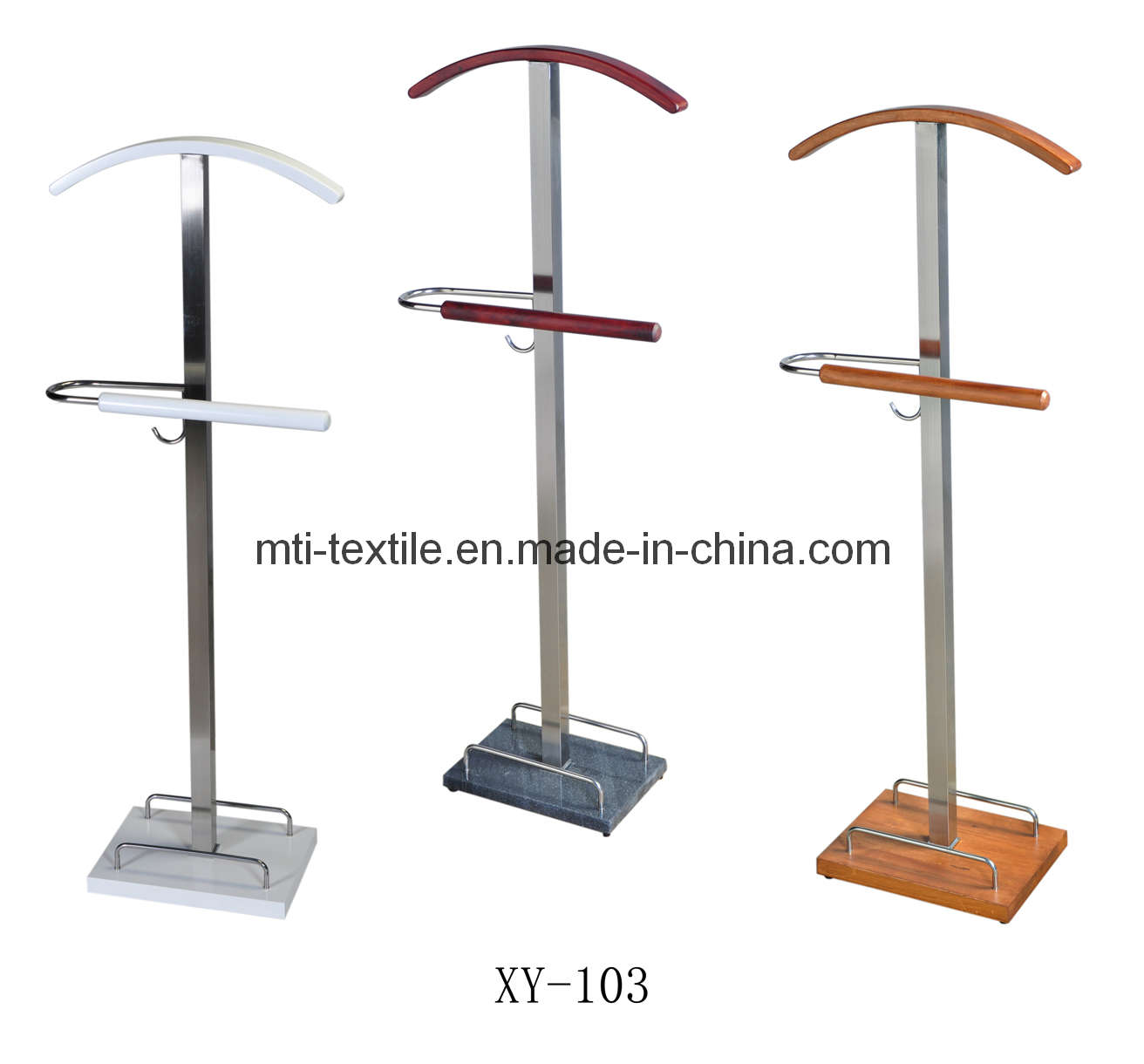 Modern Shape Of standing Coat rack in three option colors