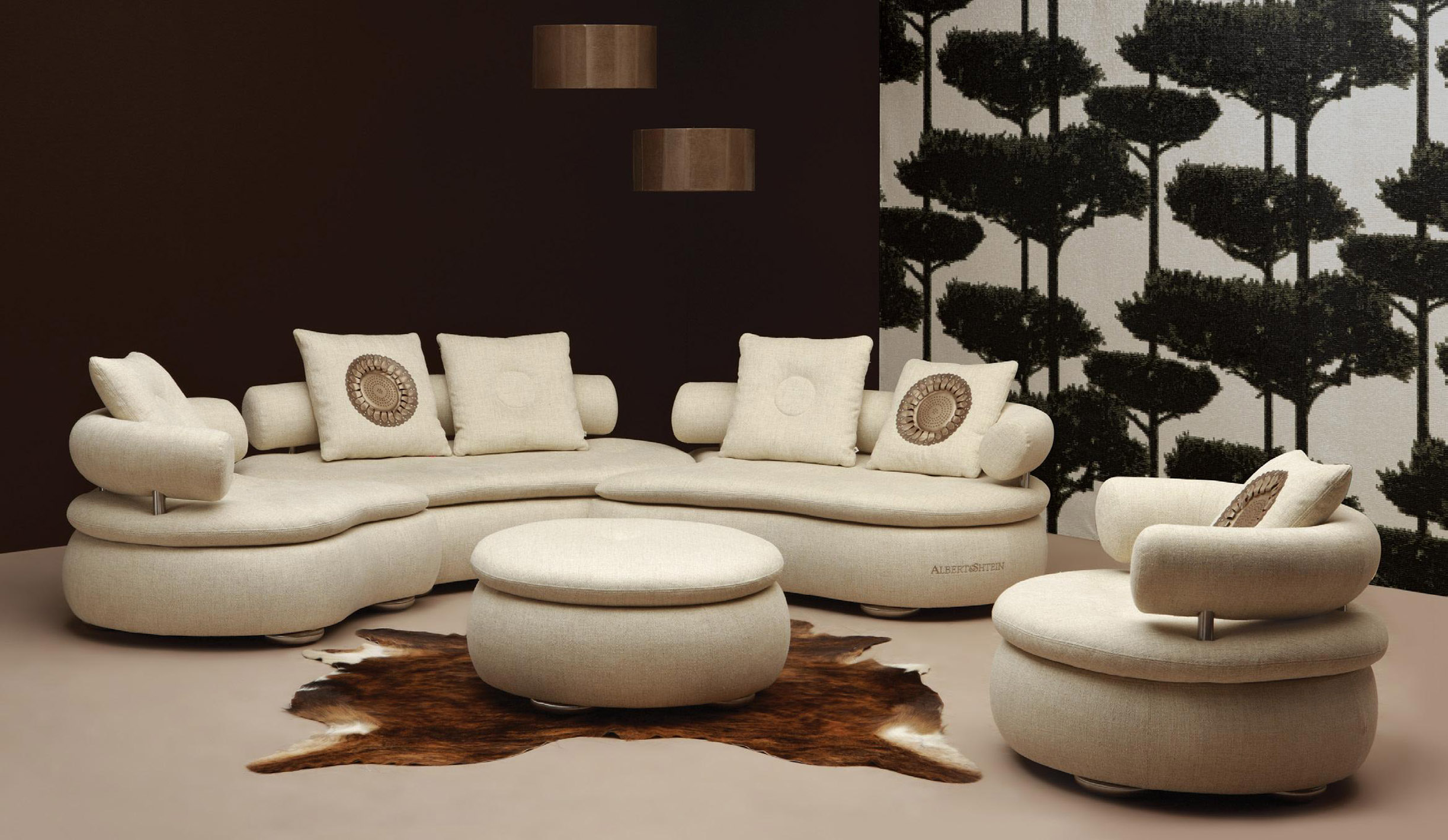 Round couches for small living rooms - Modern White Leather Sectional Couches Design Plus Cushions For Elegant Furniture Ideas