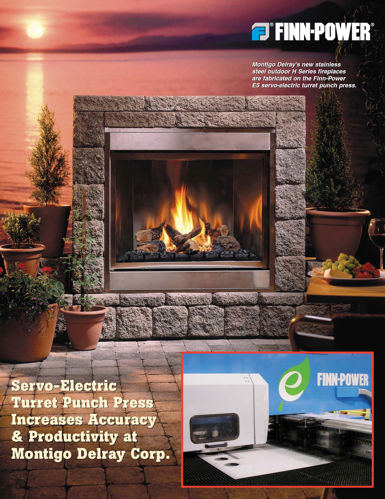 Montego Fireplace Surround By Stone For Outdoor Ideas