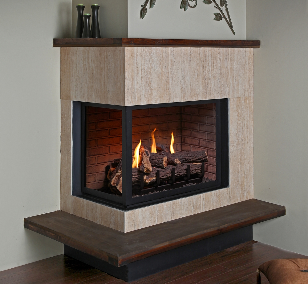 Montigo Fireplaces matched with white wall and wooden floor ideas
