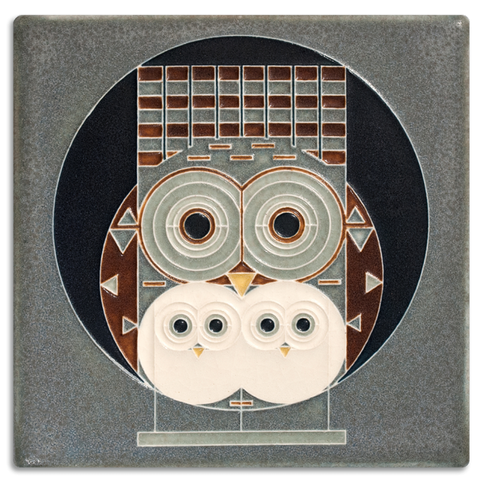 Motawi Tile Charley Harper For Wall Ornament Ideas