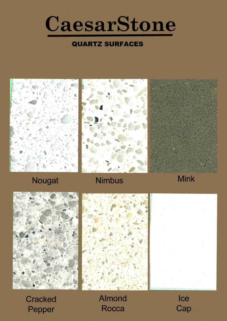 options caesarstone for marble ideas