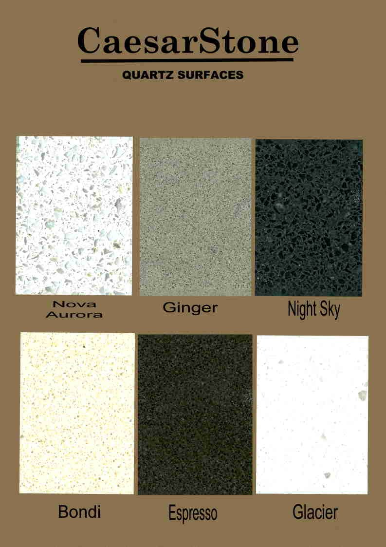 options for caesarstone