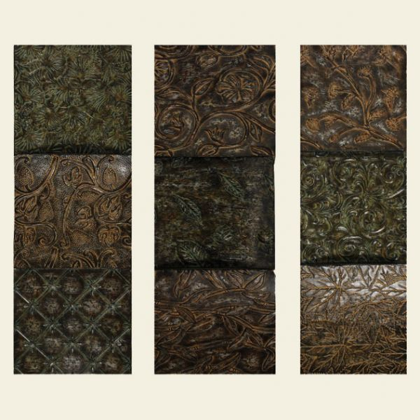 options of textured wall panels with floral ornament for wall decor inspiration