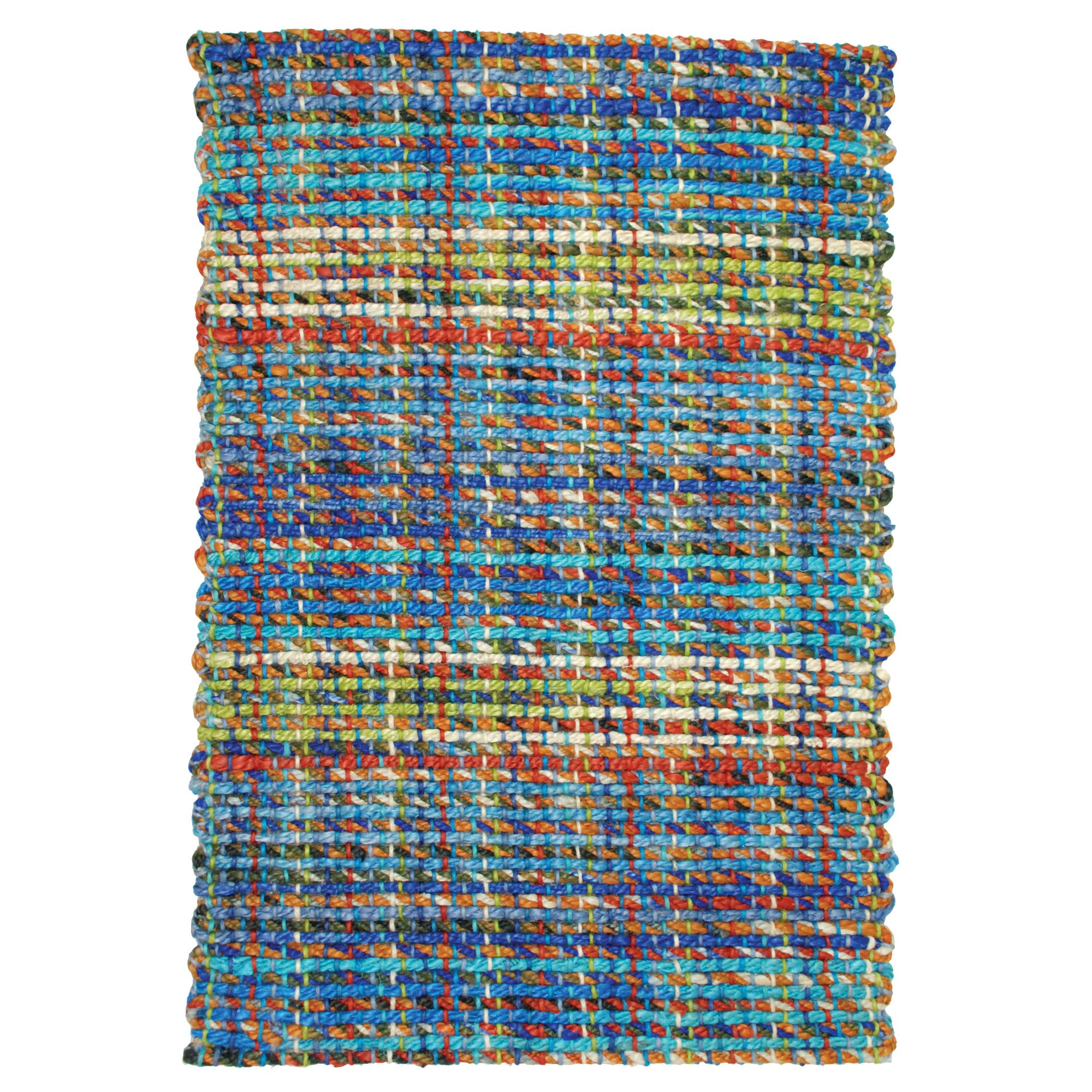 rectangle braided rugs in multicolor for floor decor ideas