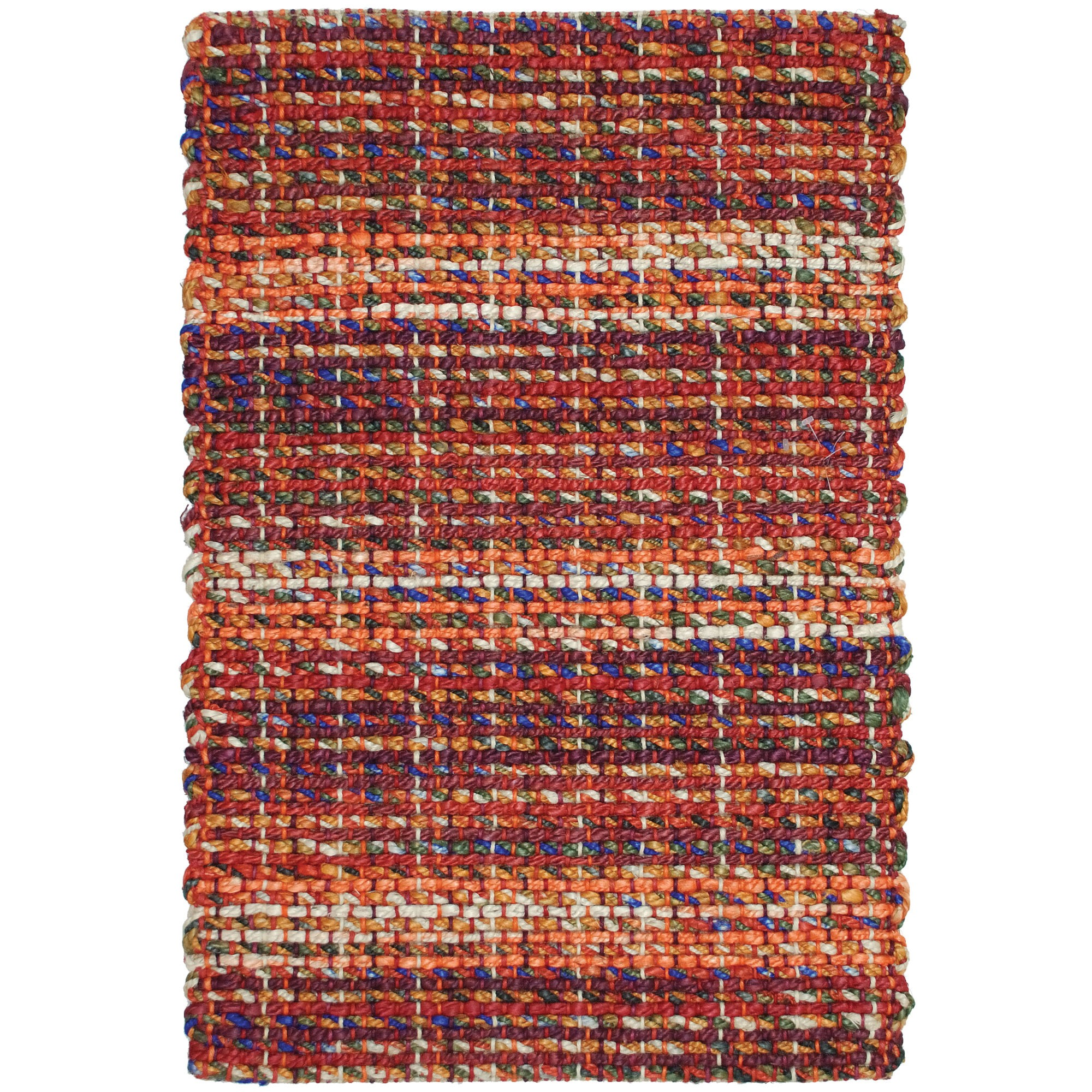 rectangle multicolor braided rugs for charming floor decor ideas