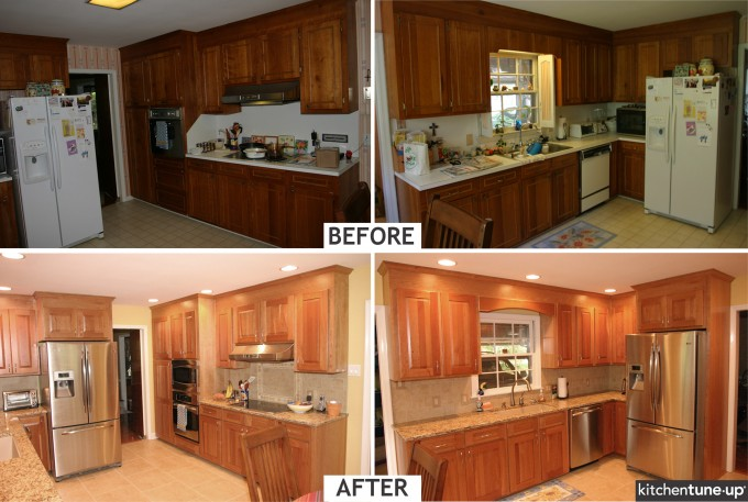 Remodeling Peru Thomasville Cabinets By Adding Window Space For More Beautiful Kitchen Decoration