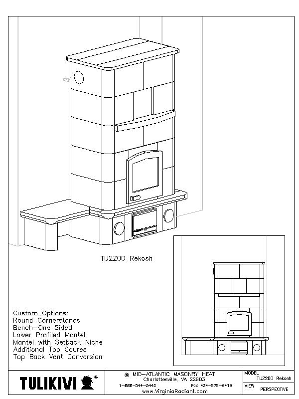 Rumford Fireplace Plans and Instructions