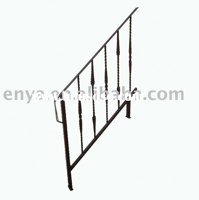 Sample Of Handrails For Stairs With Iron Material