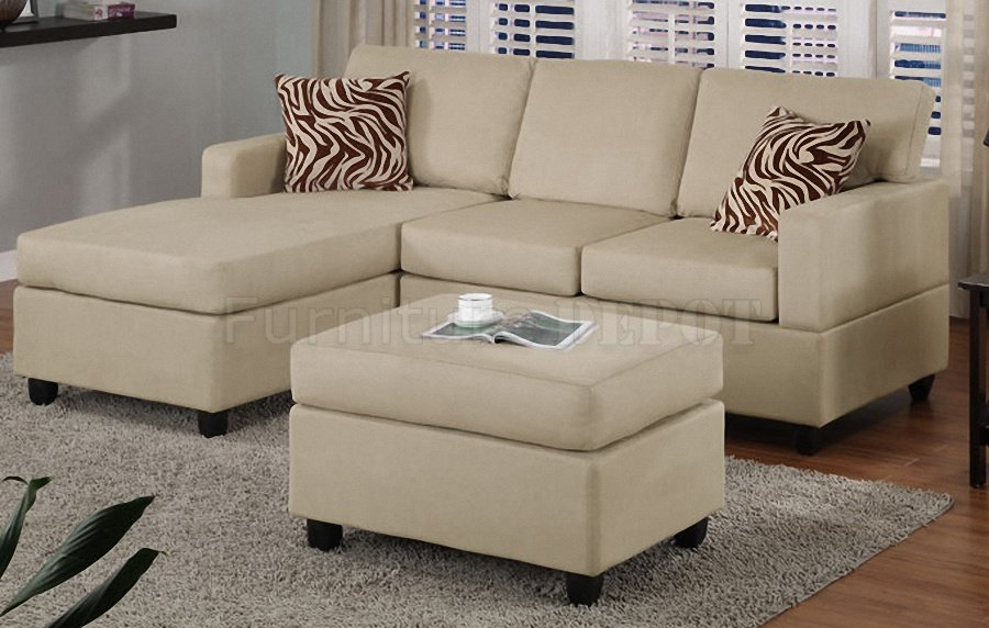 small leather sectional couches with cushions on wooden floor plus carpet for living room decor ideas