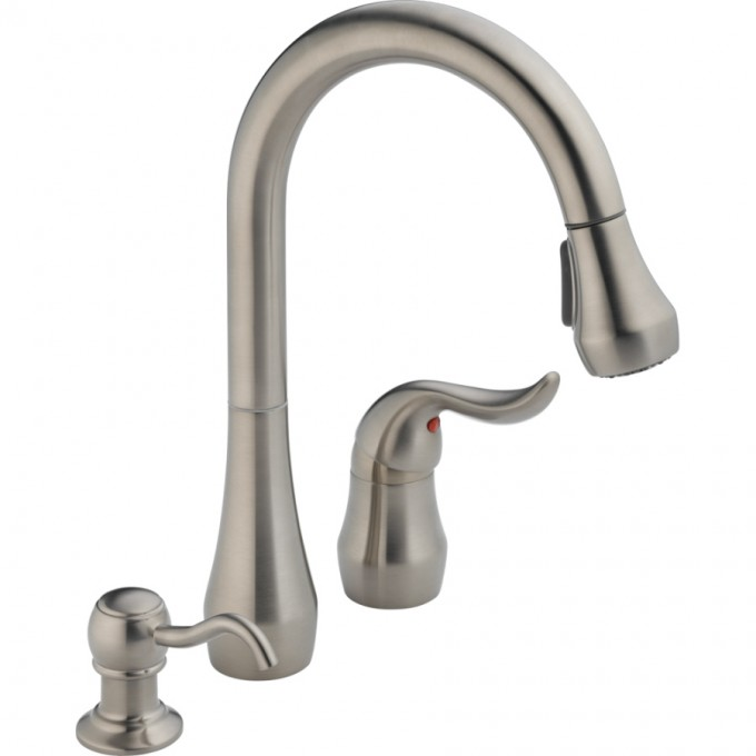 Stainless Steel Lowes Kitchen Faucets In Modern And Cool Design