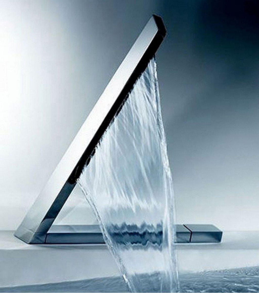 stunning waterfall faucet direct design for luxury bath up ideas