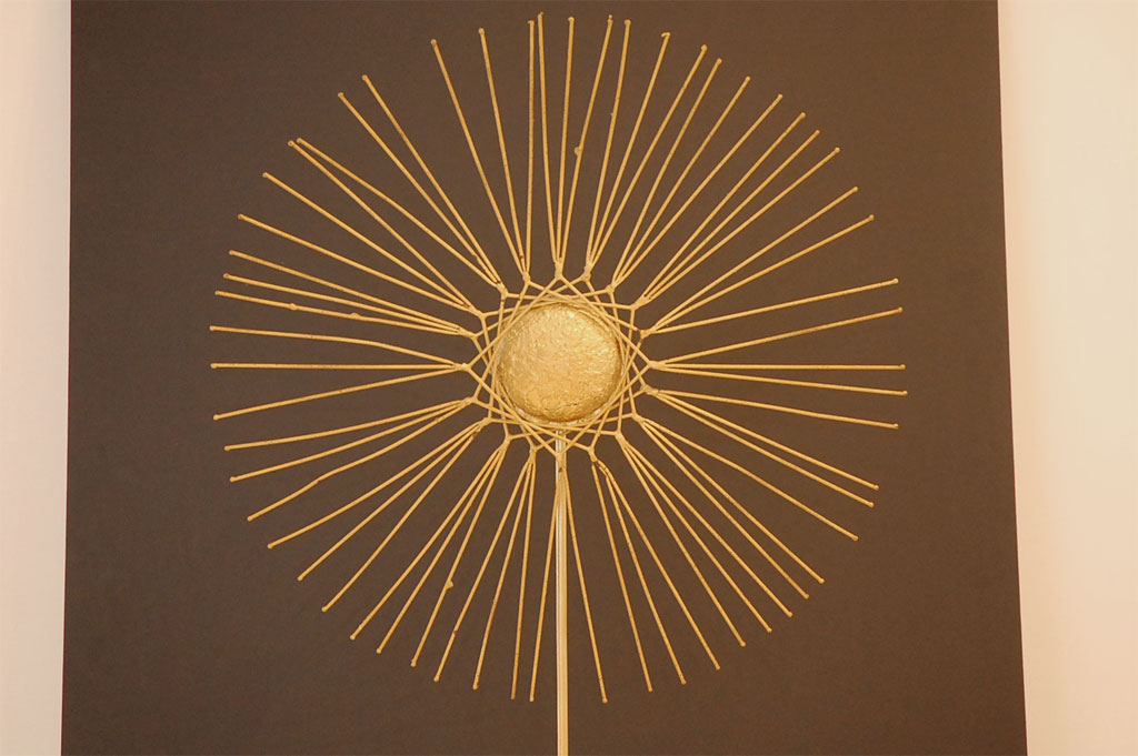 Stunning Yellow Metal Starburst Wall Decor For Wall Accessories Ideas