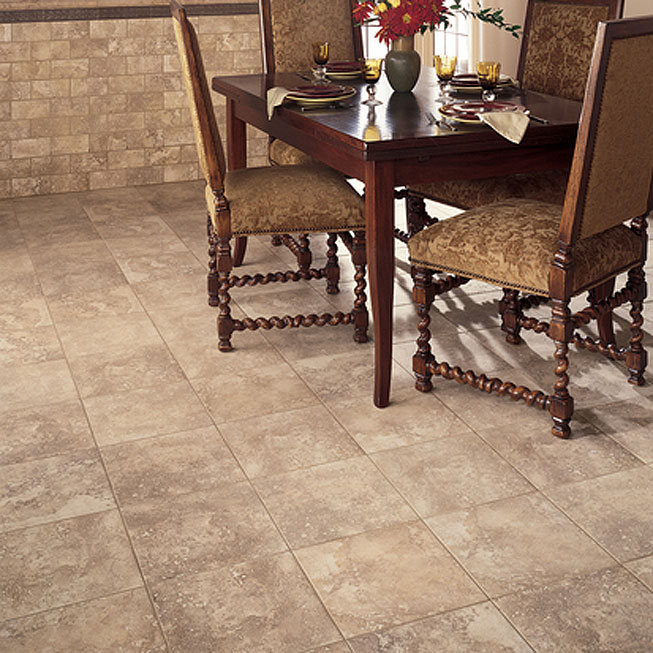 tan emser tile plus dining table for dining room ideas