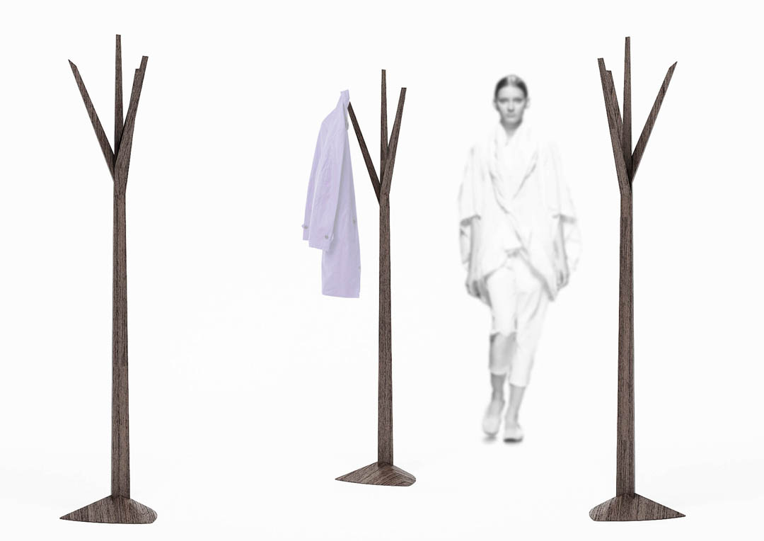tree design of standing coat rack for beautiful furniture ideas