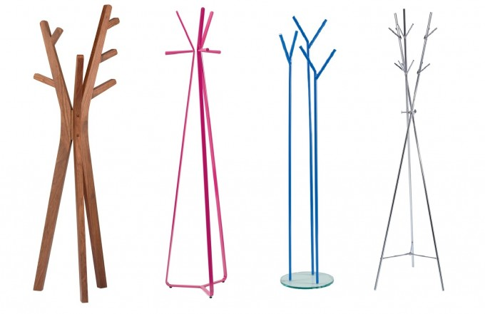 Tree Design Of Standing Coat Rack With Option Colors