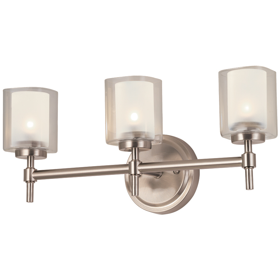 triple can Lowes Bathroom Lighting for bathroom lighting ideas